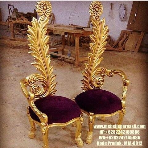 mebel-jepara-asli-kursi minimalis ukir bunga-MJA-0012