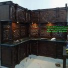Kitchen Set Ukir Jati Jepara