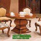 Set Kursi Makan Mewah Meja Bundar