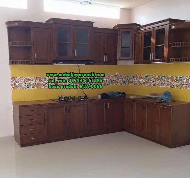 Kitchen Set Jati Minimalis: Harga Kitchen Set Jati Jepara
