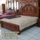 Tempat Tidur Ukir Mewah Jepara