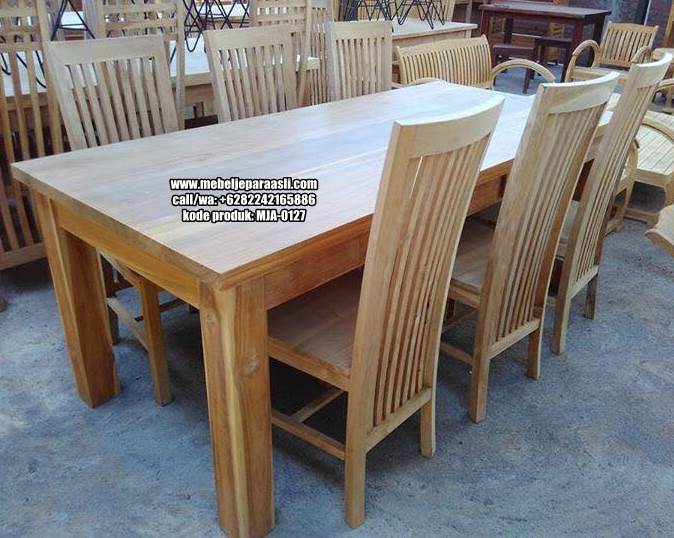 meja kursi makan minimalis