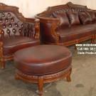 Kursi Tamu Sofa Tangan Lengkung