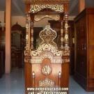 Mimbar Masjid Jati Terbaru