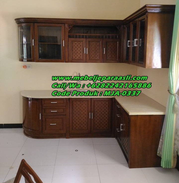 Jual Kitchen Set Kayu Jati Jual Kitchen Set Minimalis Jual Kitchen Set Mebel Jati Jepara Asli Minimalis Klasik Mebel Jepara