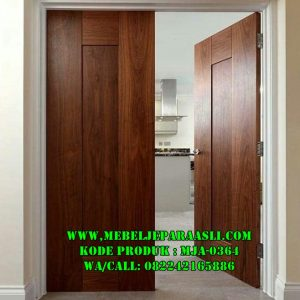 Pintu Rumah Kayu Jati Solid