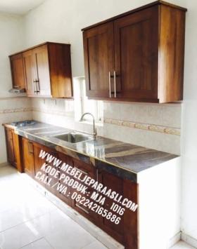 kitchen set minimalis, kichen set kayu, kitchen set jati, kitchen set jati jepara, kichen set kayu solid, kitchen set murah, mebel jepara asli