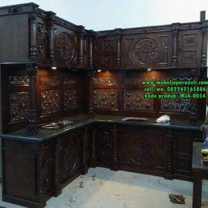 Kitchen Set Ukir Jati Jepara