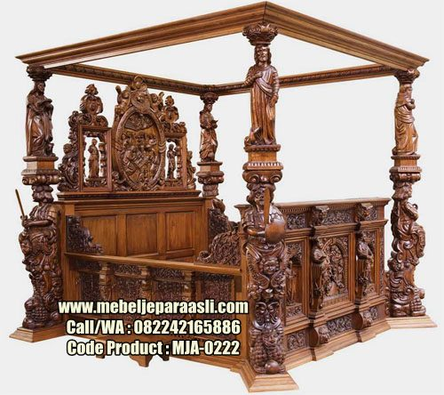 Dipan Klasik Ukiran Relief-MJA-0222-Mebel Jepara Asli