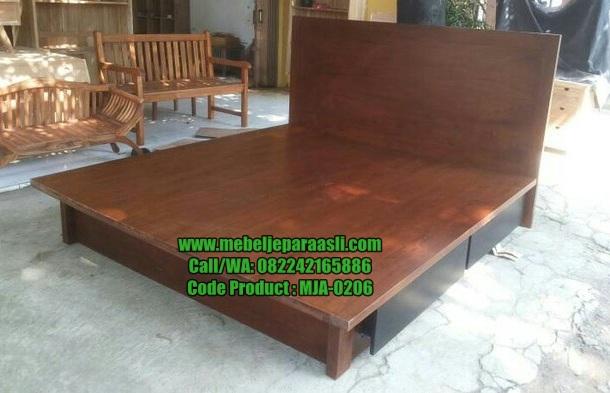 Dipan Minimalis Jati Solid-MJA-0206-Mebel Jepara Asli