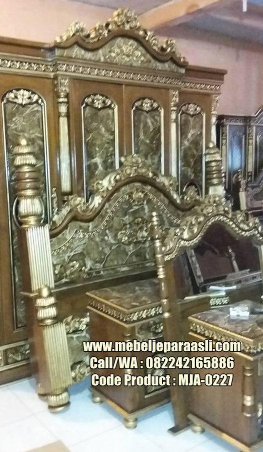 Kamar Set Ukiran Monalisa-MJA-0227-Mebel Jepara Asli