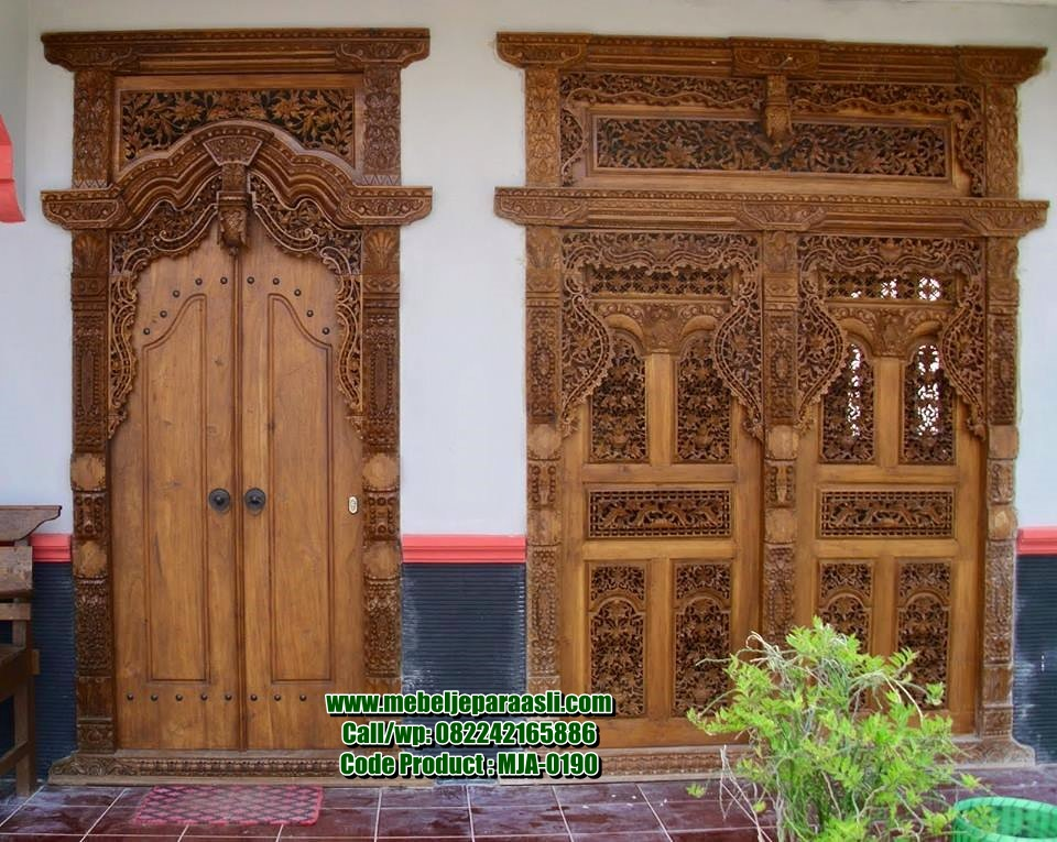 Pintu Gebyok Jepara-MJA-0190-Mebel Jepara Asli
