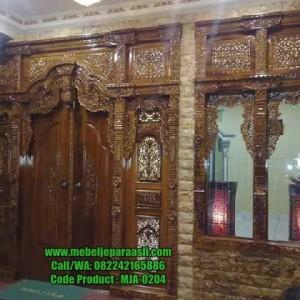 Set Pintu Rumah Gebyok