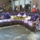 Sofa Tamu Sudut Florist
