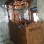 Mimbar Masjid Kayu Jati Mewah