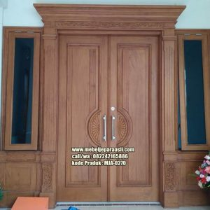 Pintu Minimalis Jati Terbaru