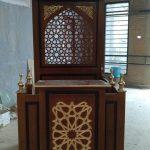 Mimbar Masjid Minimalis