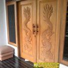 Pintu Ukiran Naga