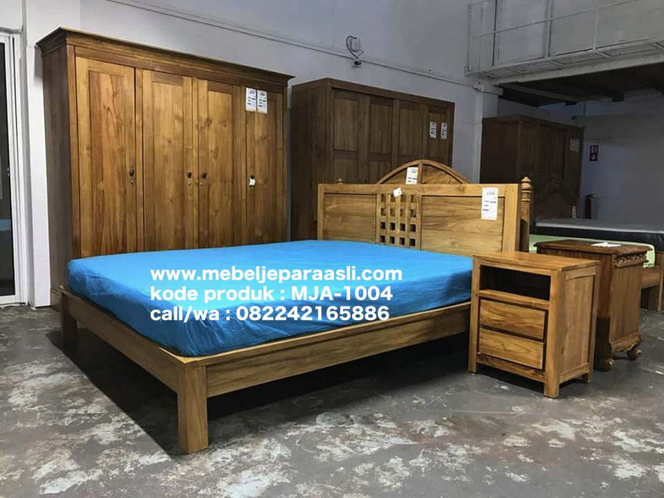 jual set kamar tidur minimalis jepara