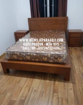 tempat tidur minimalis kayu jati murah, tempat tidur minimalis Jepara, tempat tidur kayu jati, tempat tidur minimalis kayu, tempat tidur jati jepara, dipan 2jt